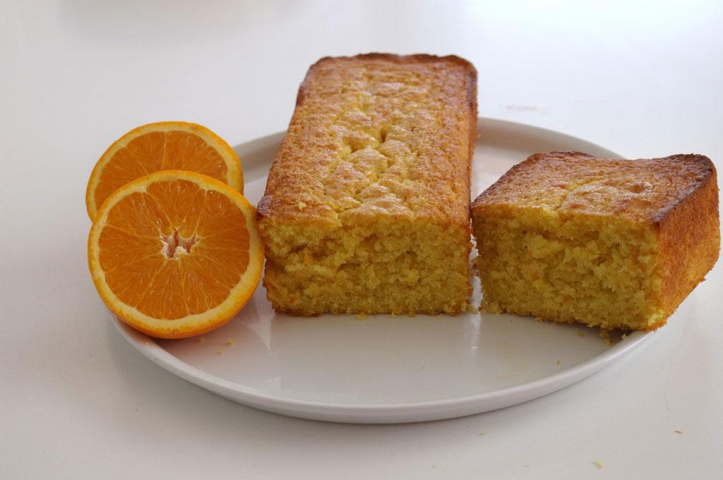 Bizocho de naranja